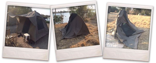 tent squashing