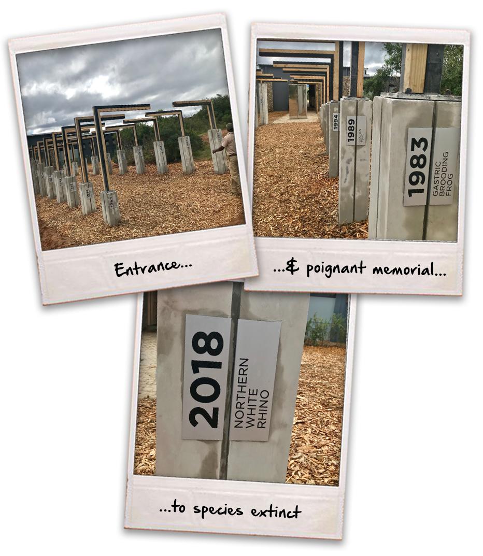Extinction memorial